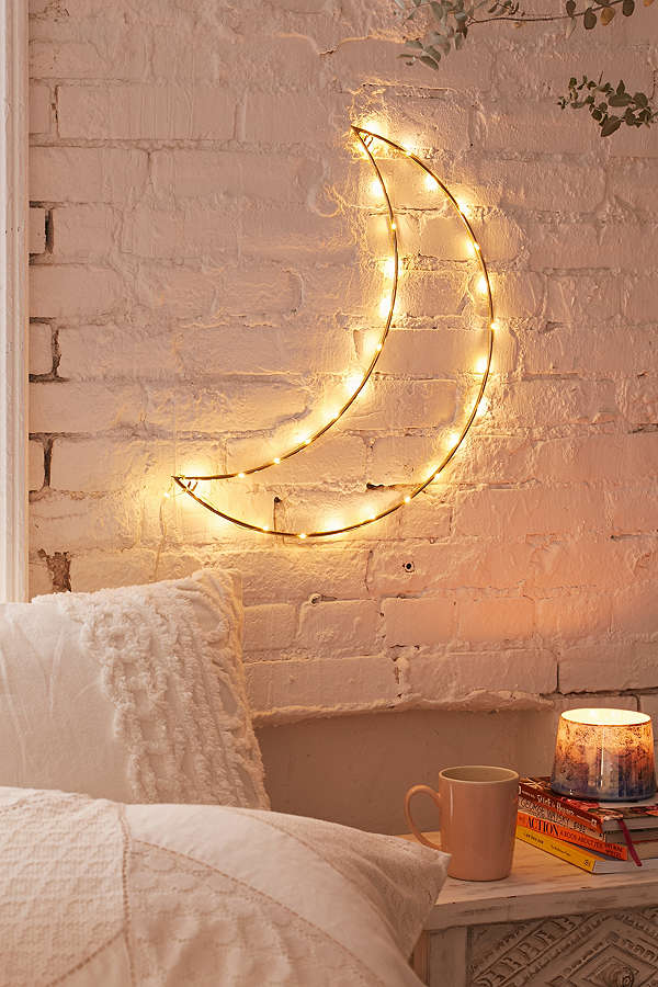 Gifts for Impossible People | Geo Moon Light Sculpture at Urban Outfitters