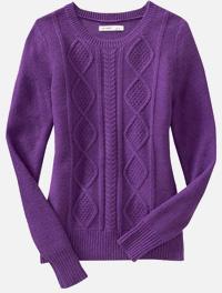 Crewneck winter sweater