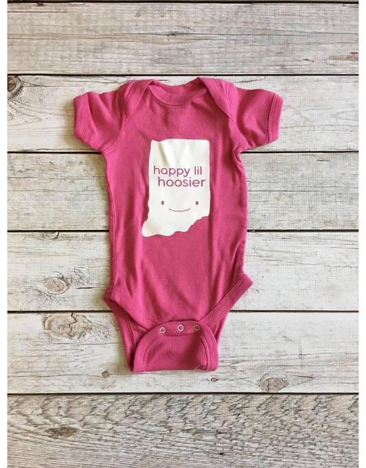 Indiana Baby Onesie