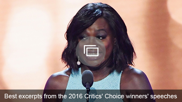Critics Choice Awards winners slideshow