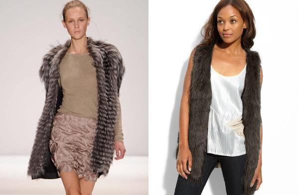 Runway inspiration: The fur vest
