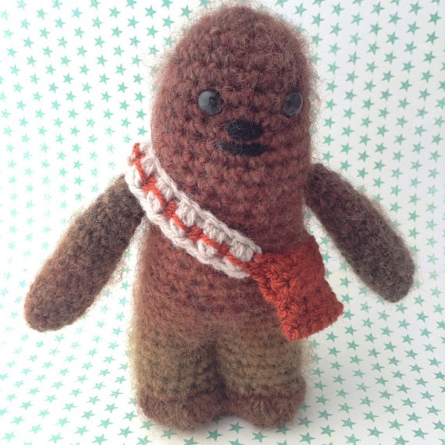 Crochet Wookiee