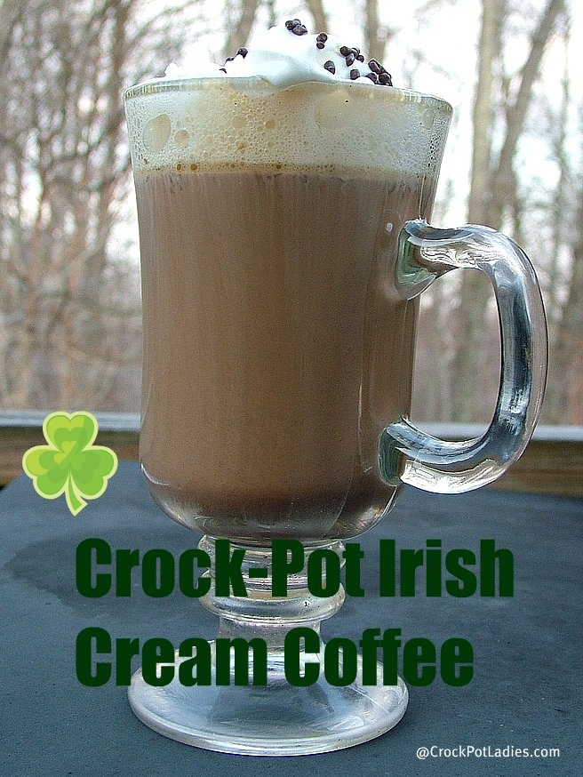 crock pot irish cream coffee