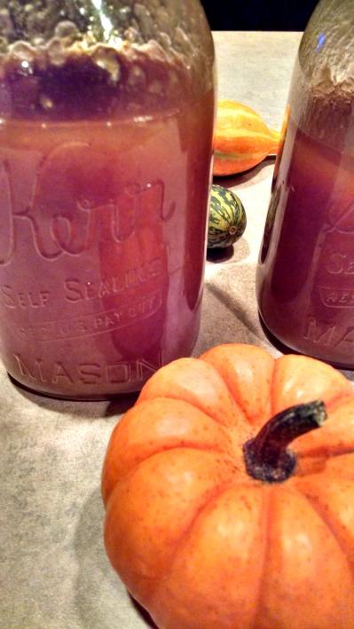 crock pot pumpkin pie moonshine
