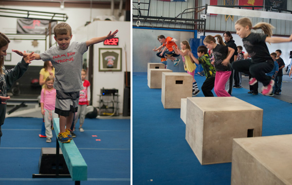 Cross fit for kids