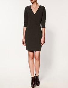 low-key Zara dress ($60, zara.com)