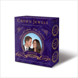 Crown Jewel Royal Wedding Condoms