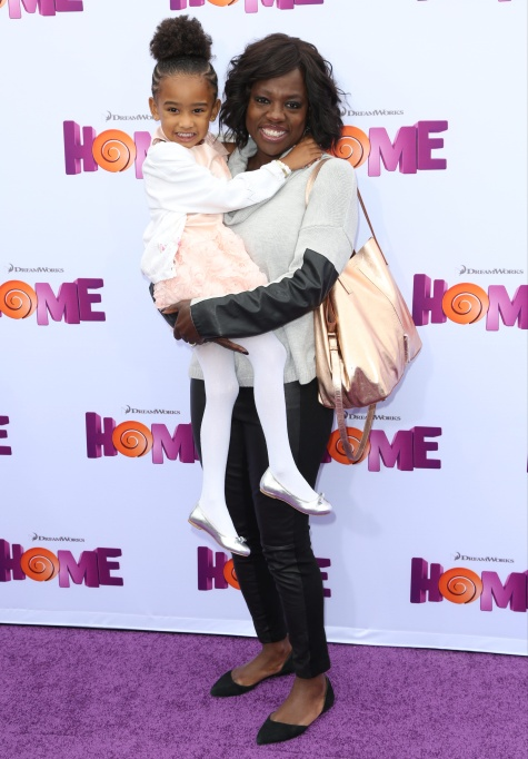 Viola Davis red carpet looks: screening of the movie Home