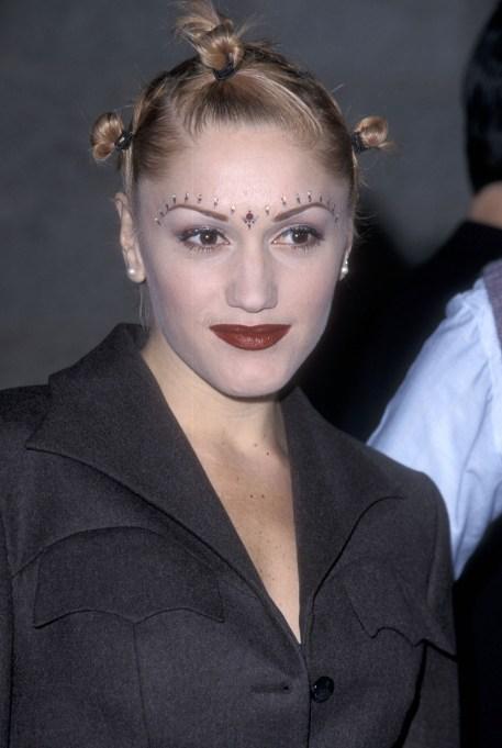 Gwen Stefani Thin Eyebrows