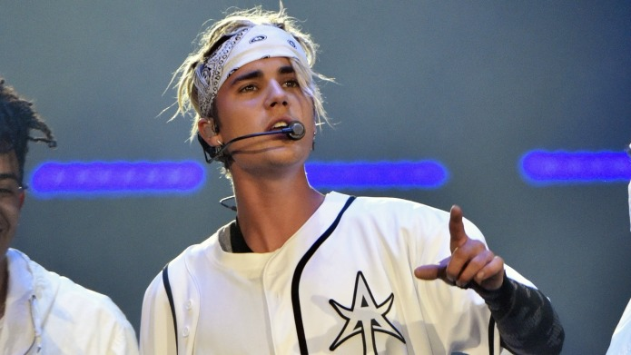 Justin Bieber is going down in