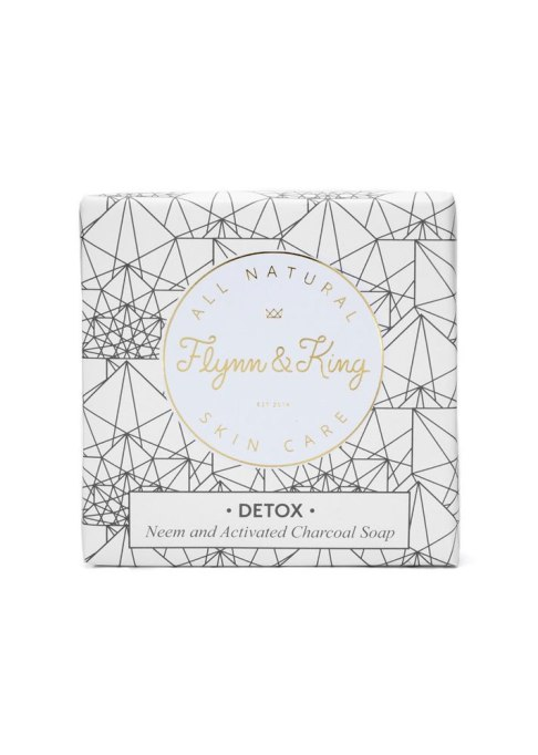 Flynn & King Neem & Activated Charcoal Soap
