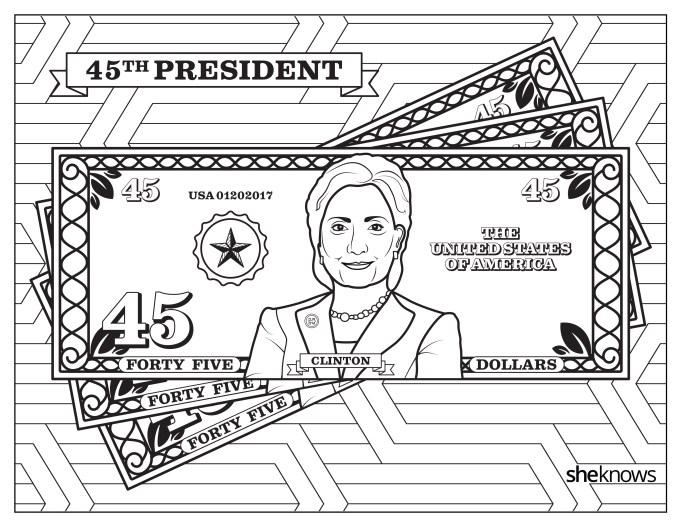 Hillary Clinton on U.S. currency