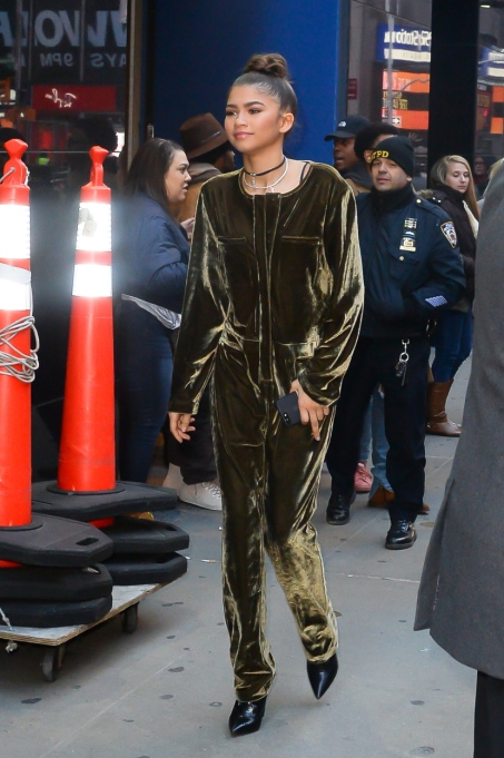 "Zendaya's Killer Fashion Choices | Seen outside ""Good Morning America"""
