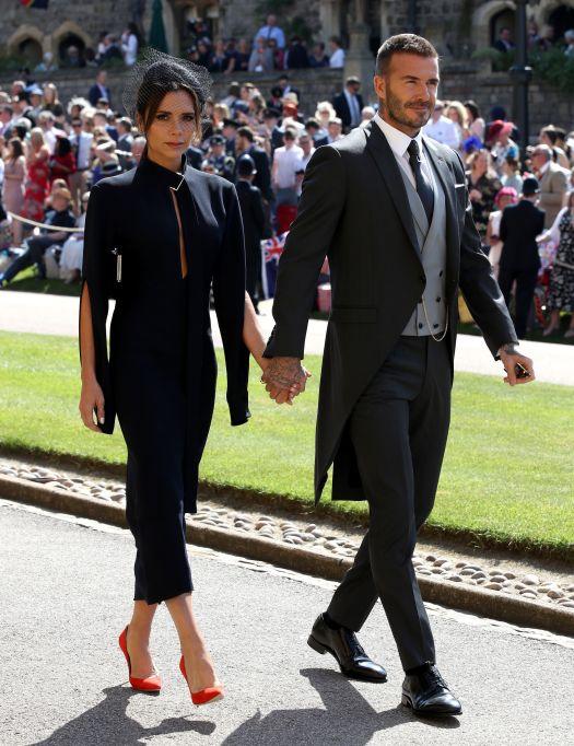 Victoria & David Beckham royal wedding