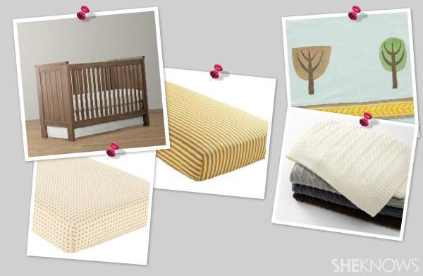 Rustic, fall-inspired nursery ideas