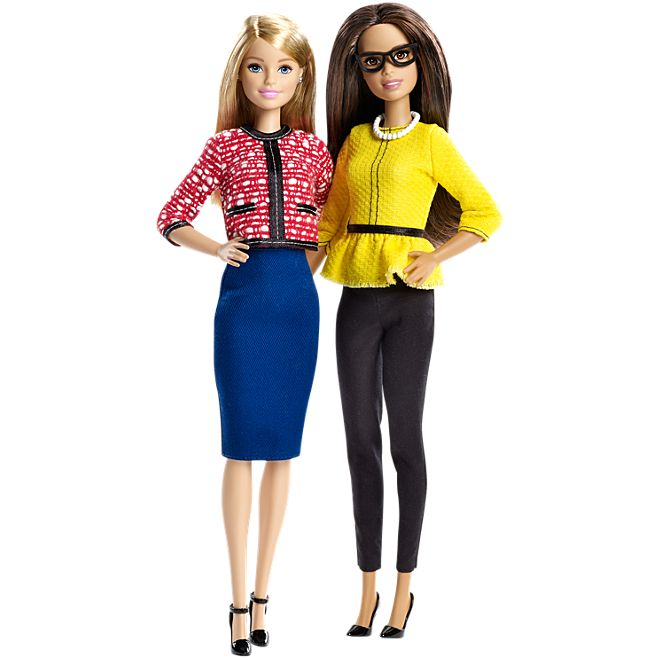 Kid Gifts That Bust Gender Stereotypes | Barbie® President and Vice President Dolls