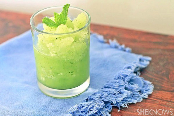 Cucumber, lime and mint cooler recipe