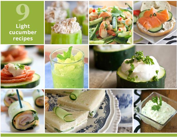 9 Light cucumber recipes | SheKnows.com