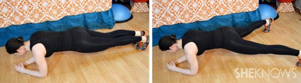 Plank jacks 1