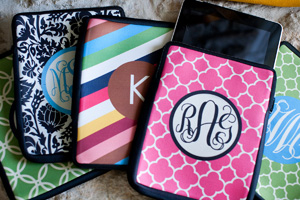 Kindle Sleeves by Etsy seller rouge & co