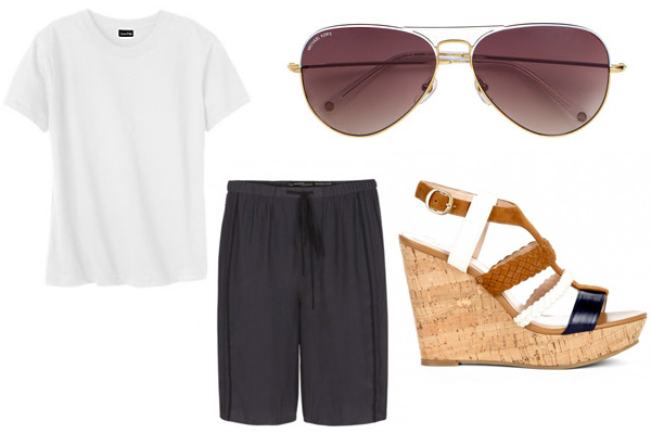 Bermuda shorts for the weekend