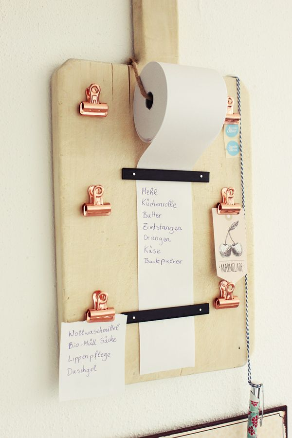 Cutting board to do list
