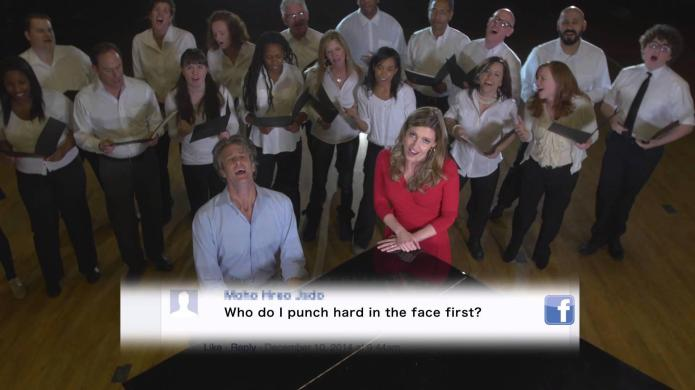 The Holderness Family singing their hateful