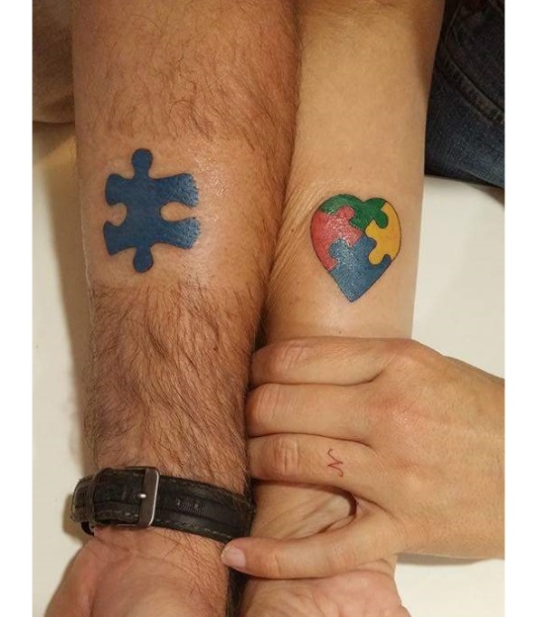 33 Gorgeous Tattoos That Are All About Autism