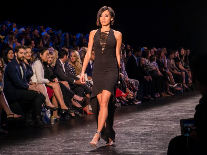 Project Runway little black dress