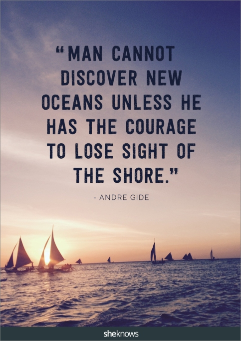 A travel quote by Andre Gide