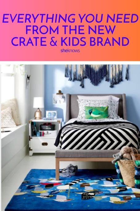 Crate & Kids New Crate & Barrel Land of Nod Line for Kids Rooms
