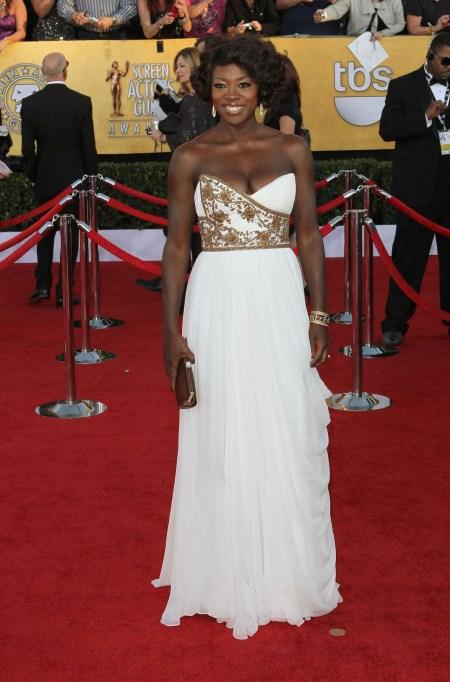 Viola Davis red carpet style: 2012 SAG Awards