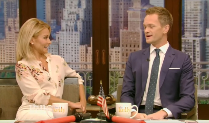Neil Patrick Harris on Live with Kelly