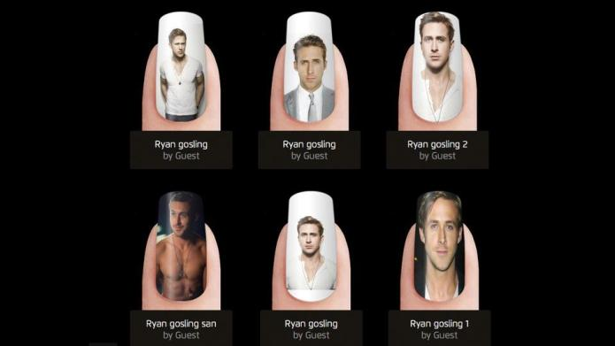 The Ryan Gosling manicure straight from