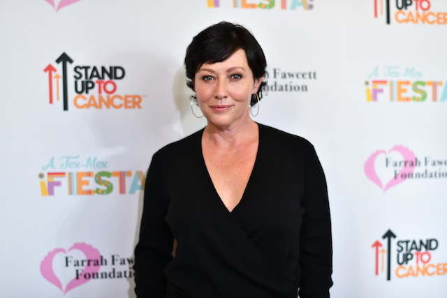 Shannen Doherty attends the Farrah Fawcett Foundation's 'Tex-Mex Fiesta' Honoring Stand Up To Cancer at Wallis Annenberg Center for the Performing Arts
