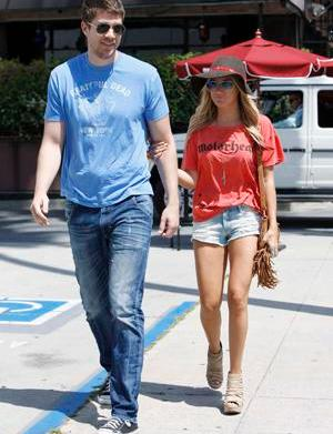 Ashley Tisdale and Scott Speer, together