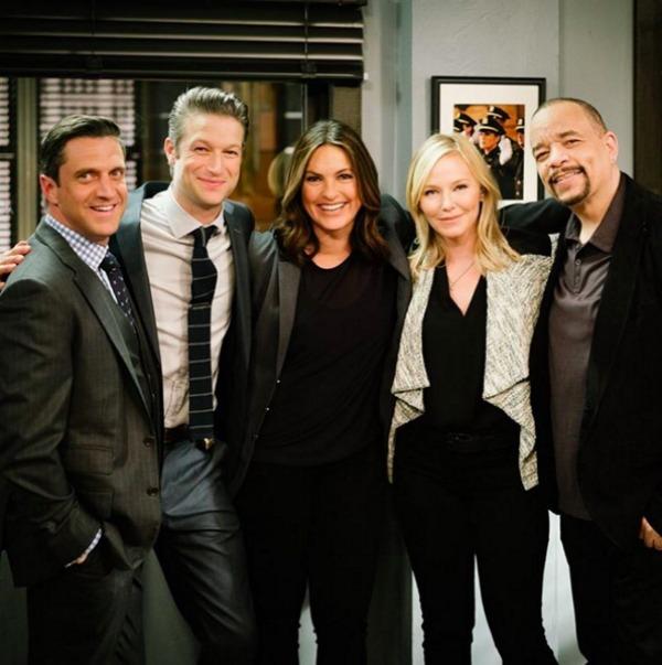 Law & Order SVU cast film the latest season