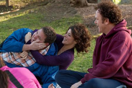 Jonah Hill, Marisa Tomei and John C Reilly in Cyrus