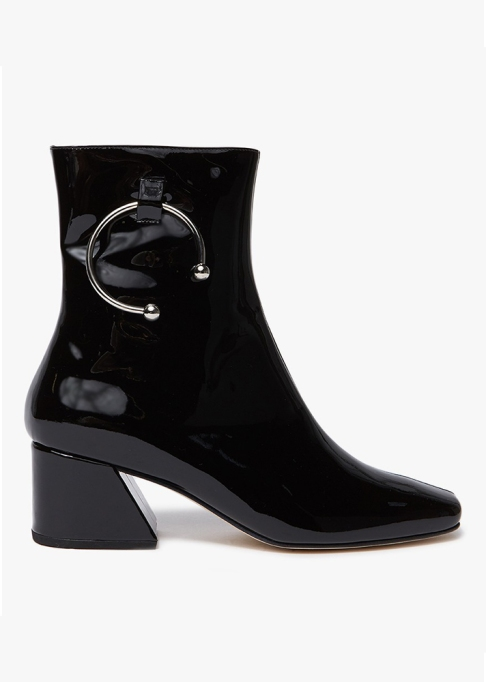 Fall Boots To Shop Before They Sell Out: DORATEYMUR Nizip Boot in Black Patent | Fall Fashion Trends 2017