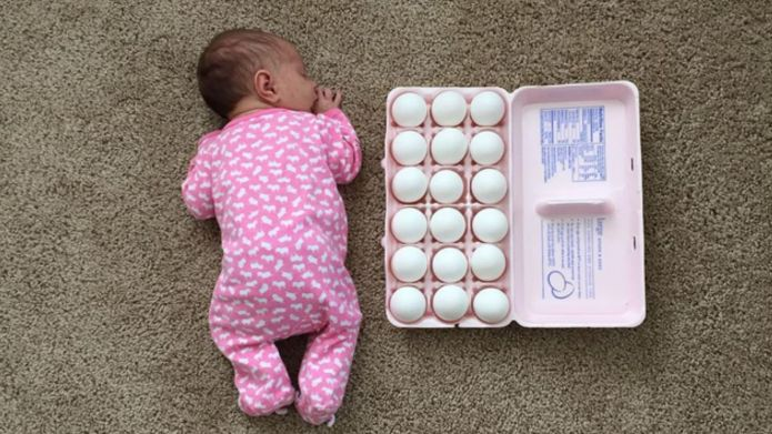 Mom pits preemie baby against household
