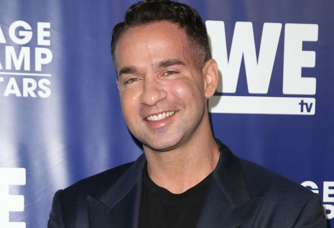 Mike Sorrentino on WE TV red carpet