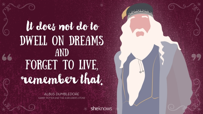 These Harry Potter quotes are words to live by