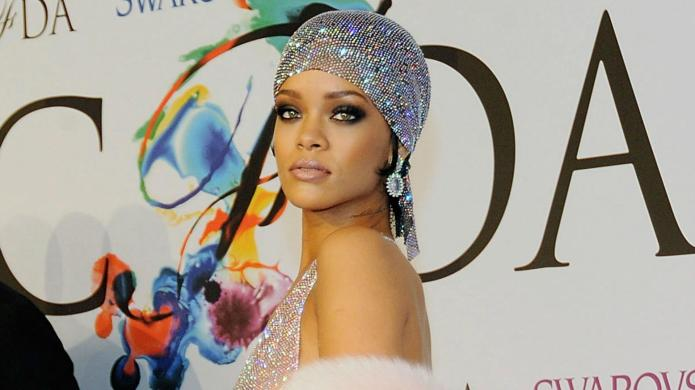Rihanna's barely-there fashion statement
