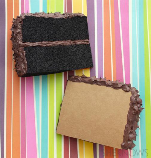 Cake postcard tutorial