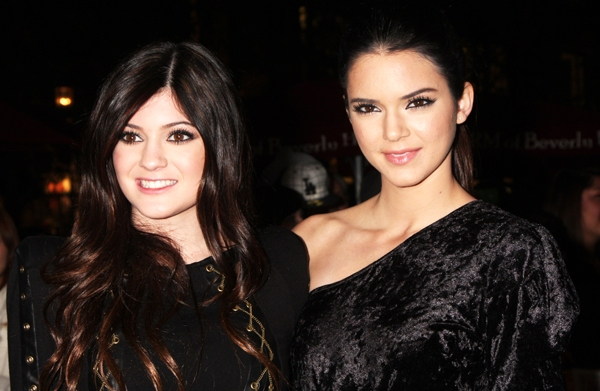 Kylie and Kendall Jenner Candie's presents
