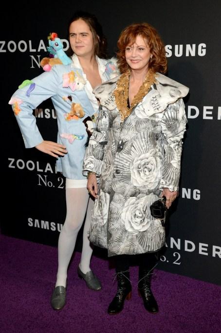 Susan Sarandon at Zoolander movie premiere