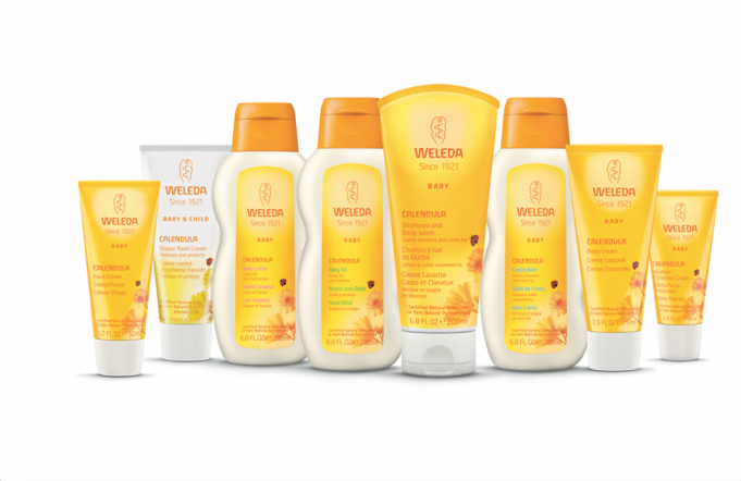 Beauty Brands with Baby Products: Weleda
