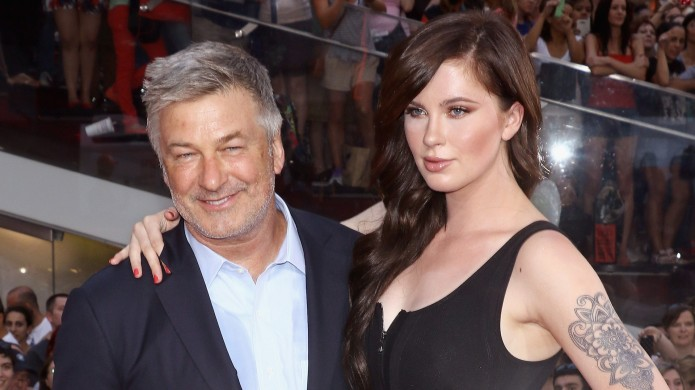 Alec Baldwin Reacts to His Daughter's