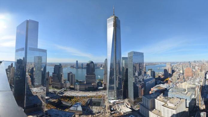 Rebuilding Ground Zero: Two time-lapse videos