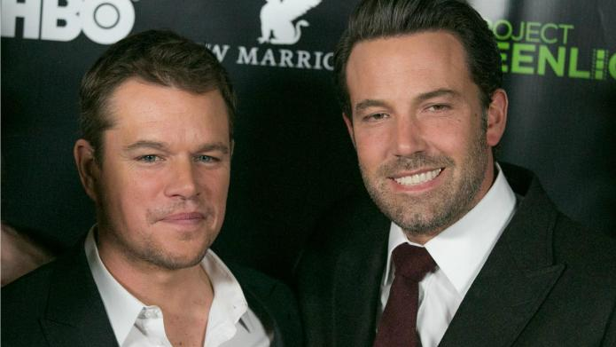 Ben Affleck, Matt Damon make fun